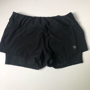 MPG running shorts with spandex lining Small